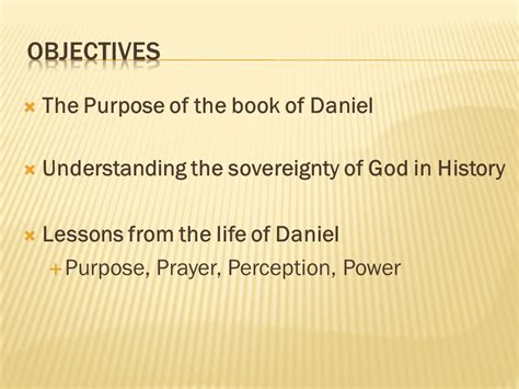 Buku Understanding The Purpose And Power Of Prayer lesson s from the book of daniel ppt