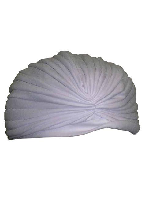 Around The World Decorations White Turban
