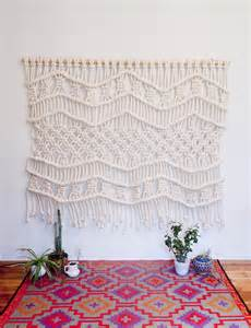 Make Macrame Wall Hangings - modern macrame bee of design s