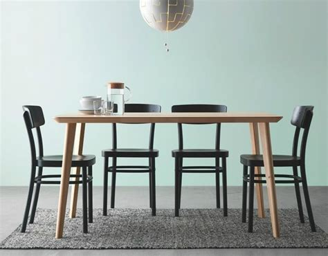 ikea dining chair hack ikea lisabo dining table is 55 quot long would still only be