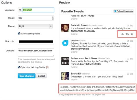 blogger embed code how to embed a twitter widget social media and tech blog