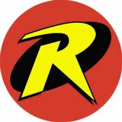 batman robin logo button