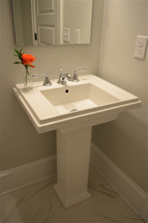 powder room with pedestal sink powder room pedestal sink traditional bathroom sinks