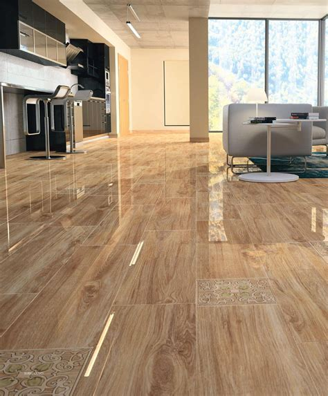 living room tile floors that look like wood home design