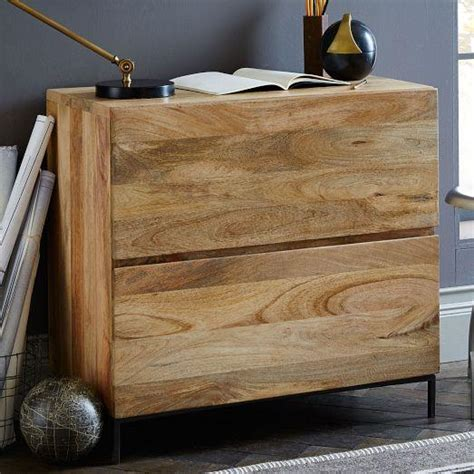 rustic lateral file cabinet rustic storage modular lateral file west elm
