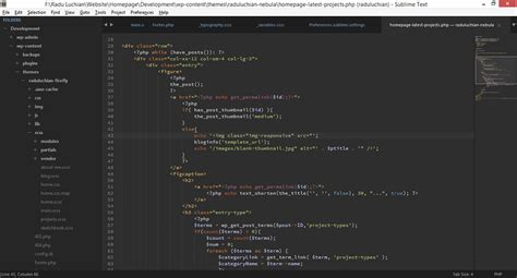 sublime text 3 theme creator brackets vs sublime text a designer s text editor