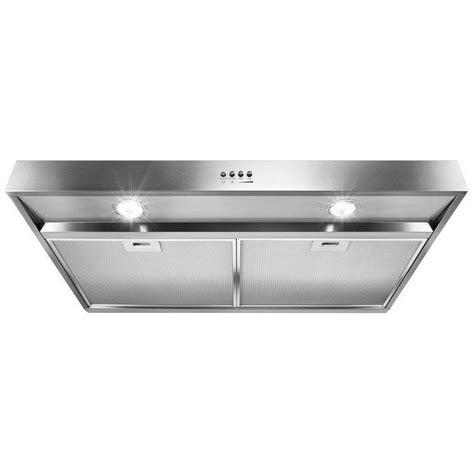 whirlpool under cabinet range hood wvu37uc0fs whirlpool 30 quot under cabinet range hood with