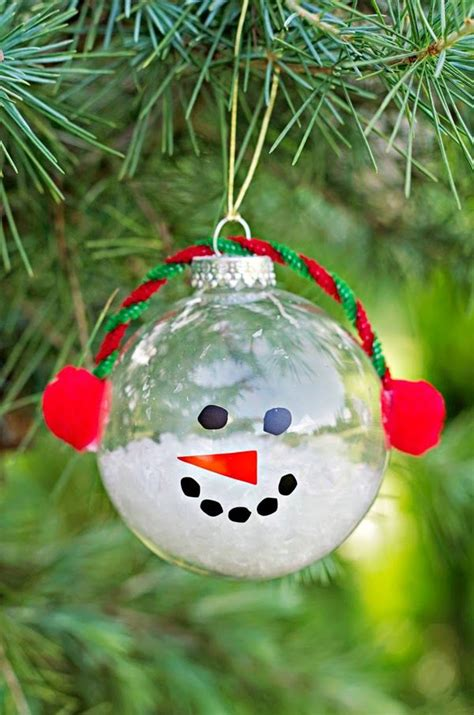 cute christmas snowman craft kids pinterest