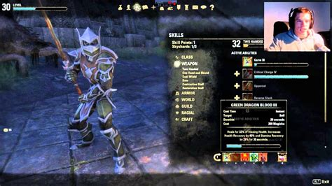 build up 3 eso eso dragonknight level 30 build survivor dps build youtube