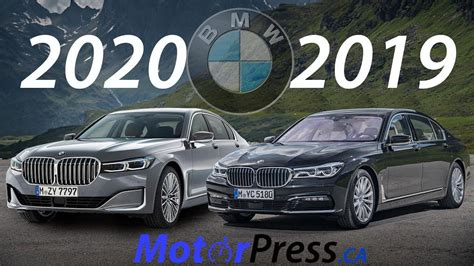 Bmw 7 Series 2020 Vs 2019 by 2020 Vs 2019 Bmw 7 Series What Is Changing