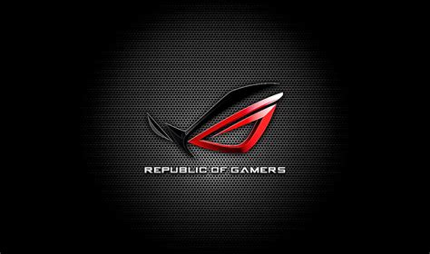 asus rog logo hd wallpaper  wallpapers desktop