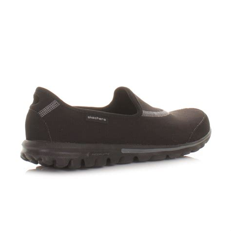 Go Walk Skechers by Womens Skechers Go Walk Walking Fitness Trainers Black