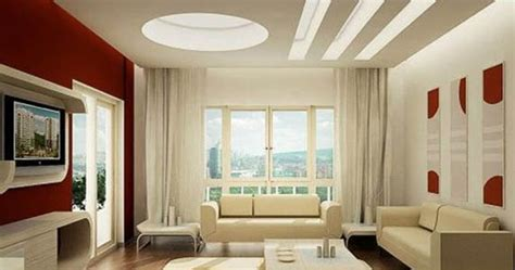 model plafon ruang tamu kecil tips terlihat luas