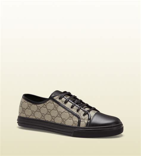 The Best Prada 3in1 Seprem gucci gg supreme canvas lowtop sneaker in black for beige lyst