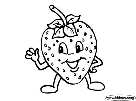 Strawberry Coloring Page Strawberry Coloring Page