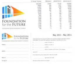 building fund pledge card template custom card template 187 building fund pledge card template