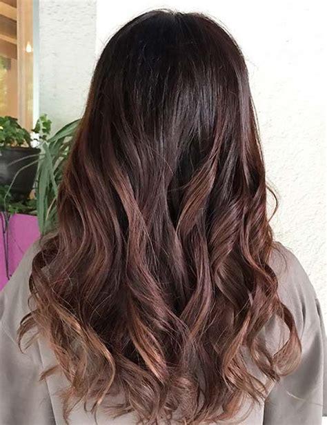 how to hightlight dark brown hair yourself 30 best highlight ideas for dark brown hair