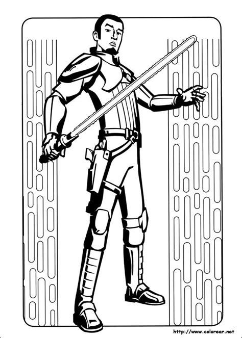 coloring pages wars rebels dibujos para colorear de wars rebels