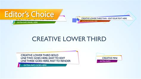 final cut pro lower thirds templates creative lower third cut pro x template