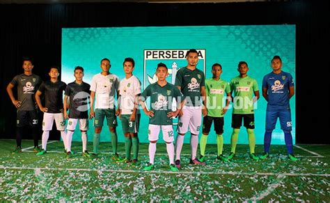 Jersey Persebaya Surabaya Away Liga 2 Gojek Traveloka 2017 Grade Ori O persebaya luncurkan jersey bermotif buaya emosi jiwaku