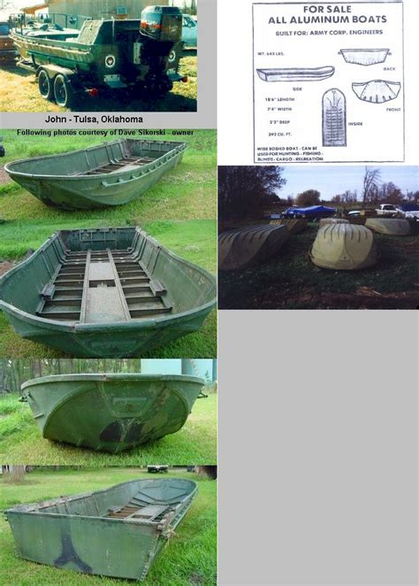 army surplus waterfowl boats motors boat blinds - Surplus Bailey Bridge Boat For Sale
