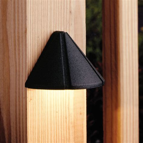 Kichler Deck Lighting Kichler Low Voltage Deck Light 15065bkt Destination Lighting