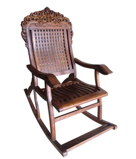 Purchase Chairs Design Ideas Rocking Chair With Leaf Design Buy At Best Price In India On Snapdeal