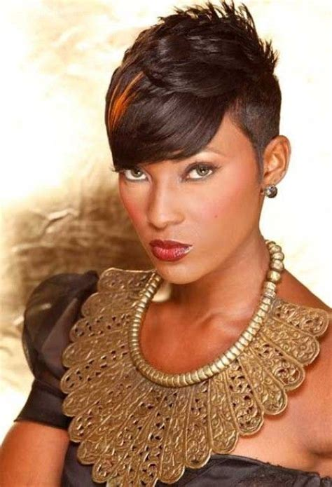 angled bob hair style fors black women angled bob short hairstyles for black women with round