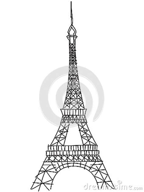 doodle god how to make eiffel tower doodle eiffel tower stock vector image 43853714