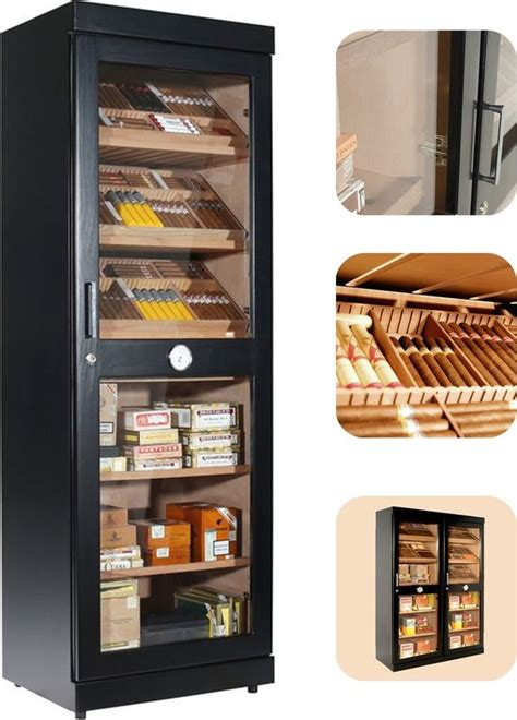 electronic cigar humidor cabinet adorini roma electronic humidor cabinet black free shipping