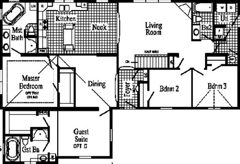 extended family house plans pennwest homes pennflex ii series modular home floor plans