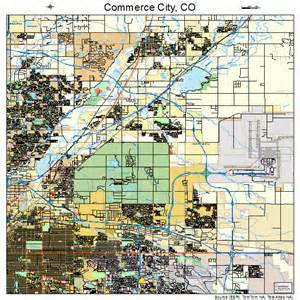 commerce city colorado map 0816495