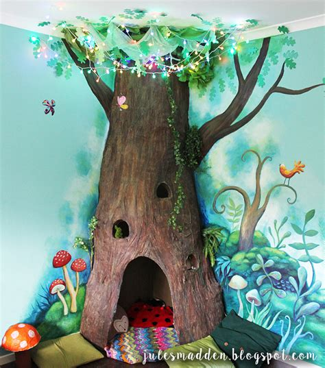 How To Make Paper Mashay - jules madden the completed paper mache tree project