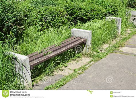 old park bench ruined park bench stock photo image of garden park