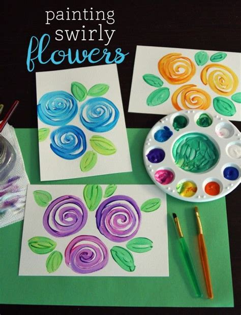 spring painting ideas top 25 best spring art ideas on pinterest daycare