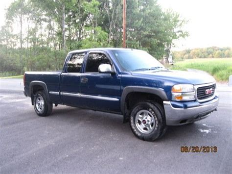 2002 gmc 4x4 sell used 2002 gmc sle 4x4 truck extended cab