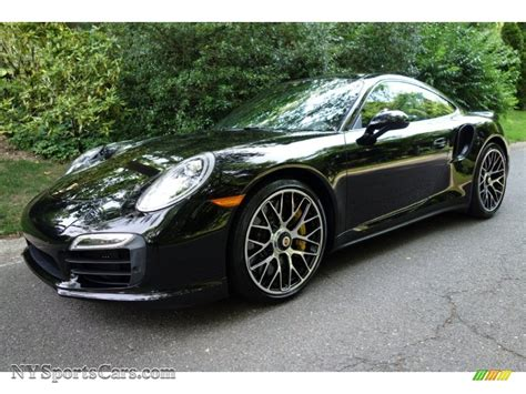 porsche coupe black 2014 porsche 911 turbo s coupe in black 167421