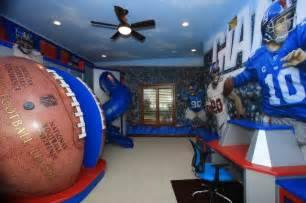nfl giants themed room traditional richmond