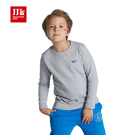 Longtee Boy Ekidz 6 boys t shirt sleeve 100 cotton shirt boys tops size 6 15t children clothing brand
