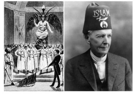 illuminati vs islam allah is satan and baphomet is his prophet the