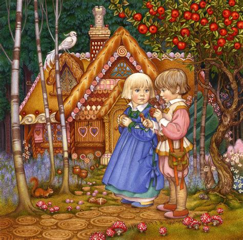 Attractive Gingerbread Themed Christmas Party #2: Hansel-and-gretel-carol-lawson.jpg