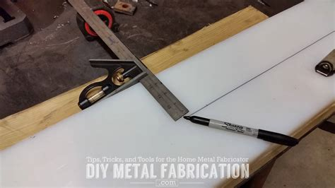 diy fabrication projects diy receiver hitch snow plow part 3 diy metal