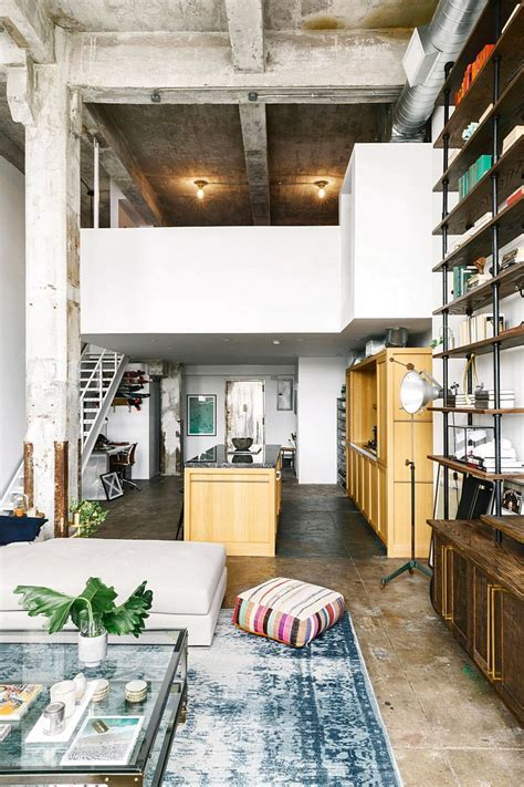 Brooklyn Loft with Aged Brick, Concrete Floors, and