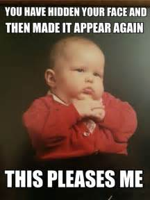 Memes About Babies - mob baby sends his regards the humorous