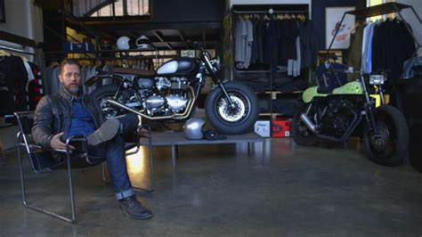 the shed an inspiring triumph supplied by a heartbreaking tragedy books news triumph bonneville a personal moto
