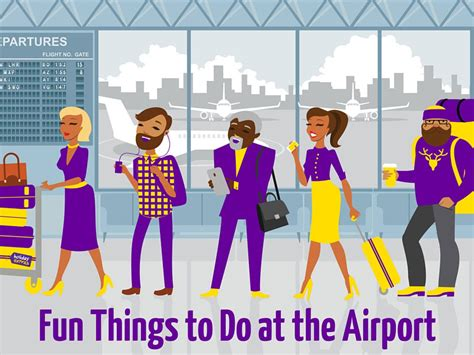 8 Things To Do In An Airport by Things To Do At Home Pictures To Pin On