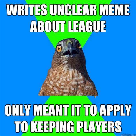Hawkward Meme - hawkward memes quickmeme