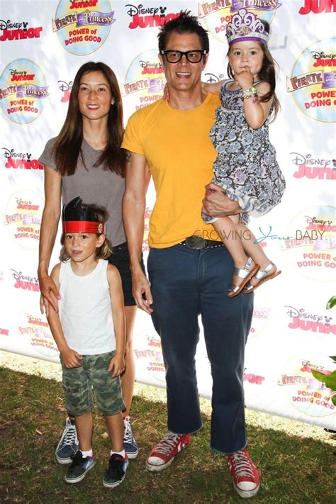 Britbox On Tv johnny knoxville his wife naomi nelson and kids rocco and