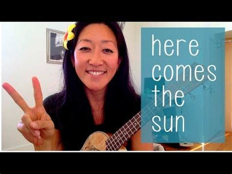 ukulele tutorial here comes the sun here comes the sun the beatles ukulele tutorial