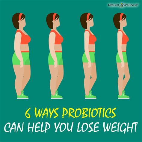 10 Ways Your Can Help You Lose Weight by 6 Ways Probiotics Can Help You Lose Weight